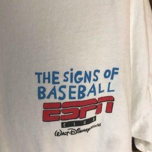 Vintage Shirts - Vintage espn baseball shirt men's Xxl